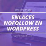 Añadir enlaces nofollow en el menu de wordpress