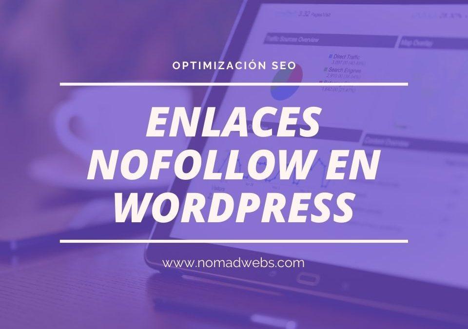 ¿Cómo hacer enlaces nofollow en el menú de WordPress?