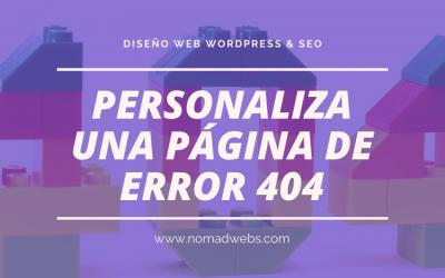 Personalizar una página de error 404 con WordPress y Divi