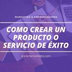 como crear un producto