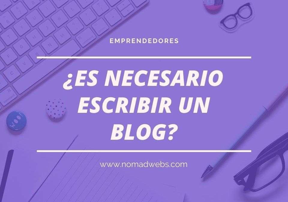 ¿Por qué escribir un blog personal o profesional?
