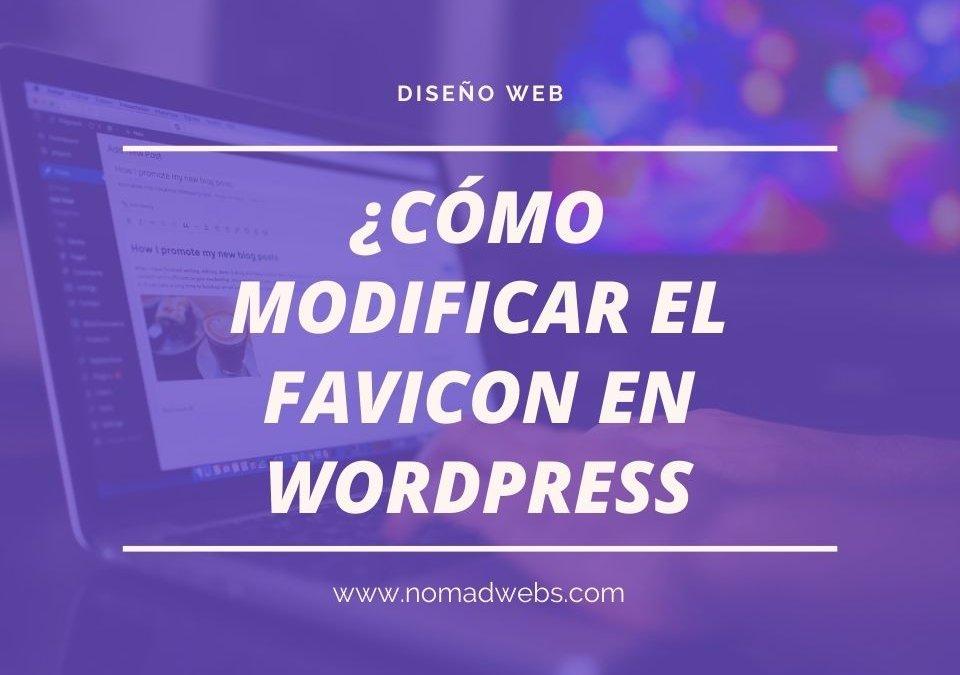 Cómo cambiar el icono, o favicon en WordPress