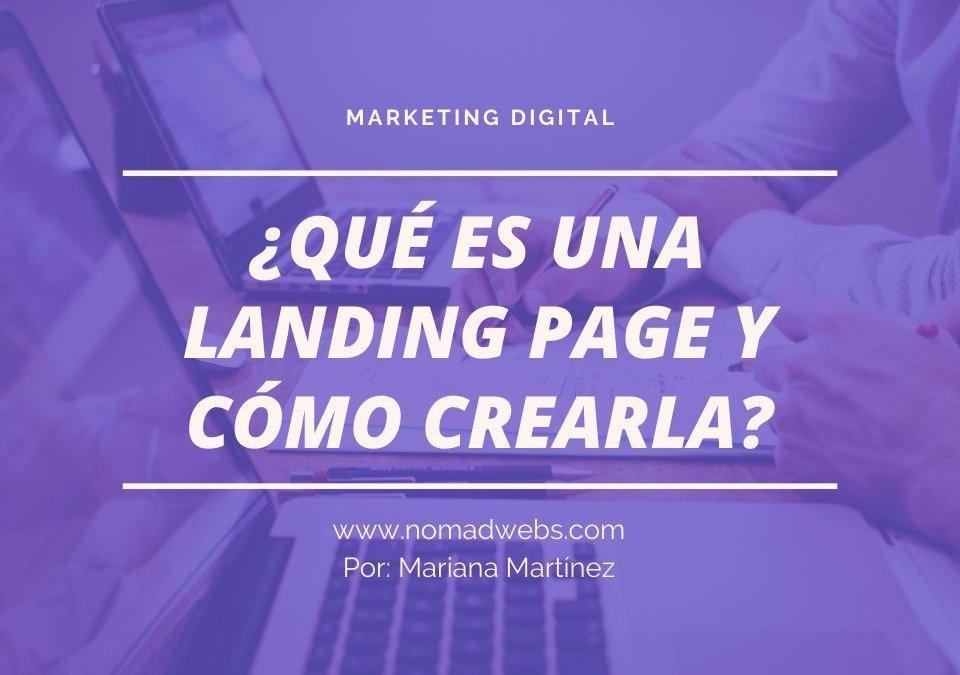 Landing Page: Qué es y como crear una página de aterrizaje efectiva